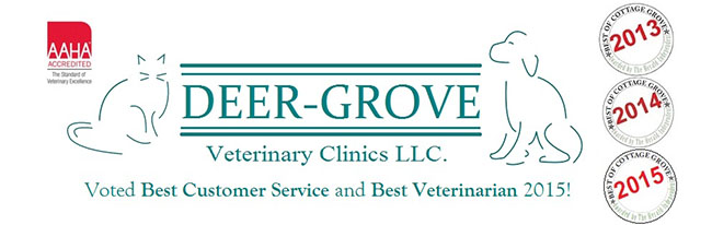 Logo for Veterinarians Cottage Grove Wisconsin | Deer-Grove Vet Clinic